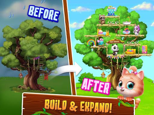 Panda Lu Treehouse - Build & Play with Tiny Pets  Screenshots 12