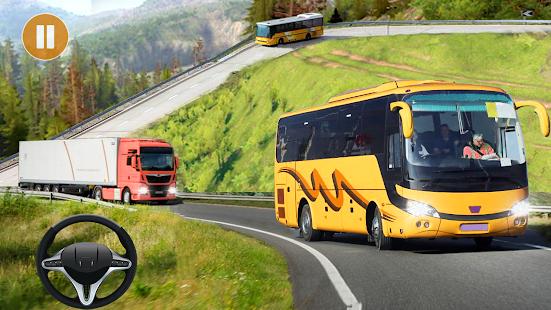 Coach Bus Simulator Offroad Driving 2021 screenshots 3