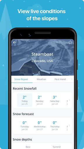 OnTheSnow Ski & Snow Report  Screenshots 2