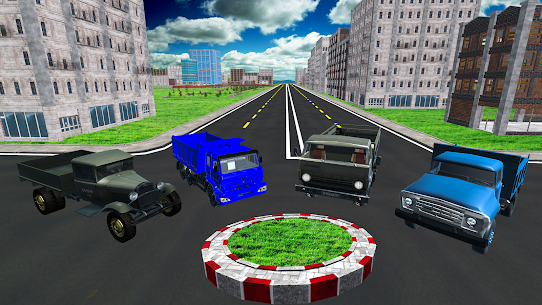 Free City Cargo Truck Driver Transport Simulator 4