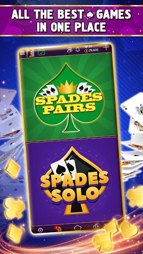 VIP Spades - Online Card Game 3.7.5.100 screenshots 2