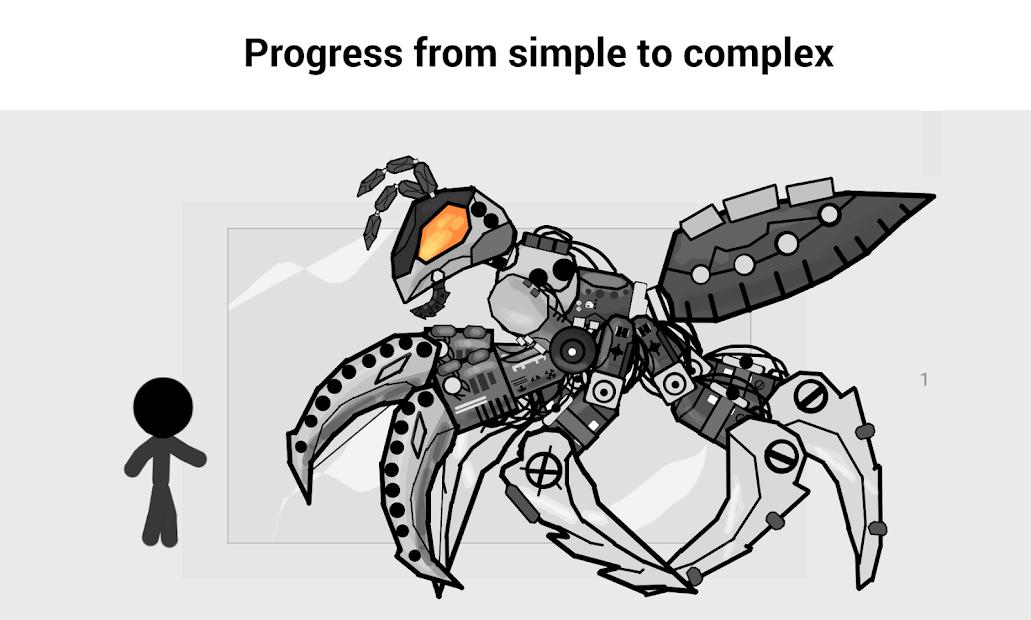 Captura de Pantalla 4 de Draw Cartoons 2: Skeletal Animation Studio para android