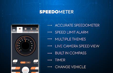 GPS Speedometer & Odometer – Live Speed Meter