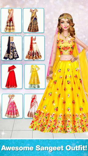 Indian Wedding Stylist - Makeup &  Dress up Games 0.17 screenshots 2