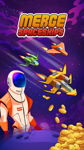 Merge Spaceships - Best Idle Space Tycoon modavailable screenshots 15