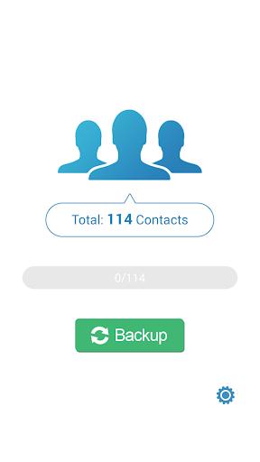 MCBackup - My Contacts Backup 2.1.6 Screenshots 1