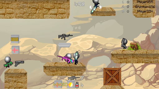 Stickman Multiplayer Shooter screenshots 1