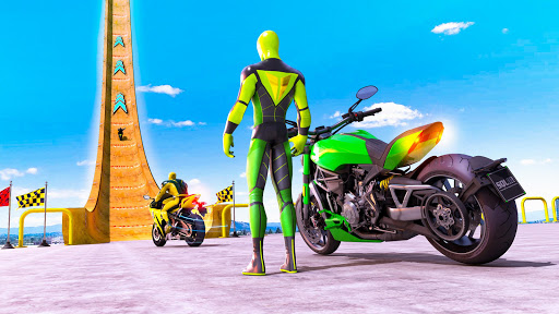 Superhero Bike Stunt GT Racing - Mega Ramp Games 1.15 screenshots 1