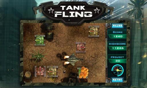 tank fling game screenshot 2