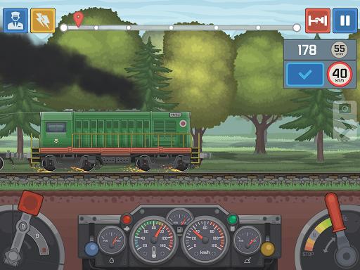 Train Simulator - 2D Railroad Game  Pc-softi 16