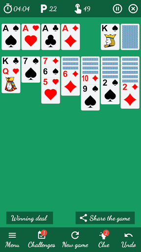 Solitaire Free Game 5.9 Screenshots 3