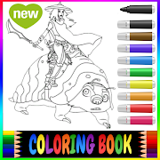 Raya And The Last Dragon Color Paint Book