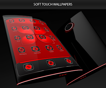Soft Touch Red Theme 13.0.6 Screenshots 2