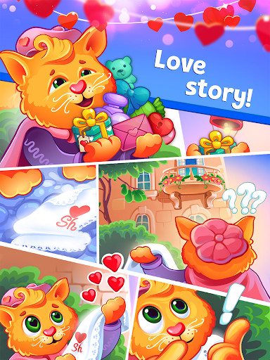 Sweet Hearts - Cute Candy Match 3 Puzzle  screenshots 9