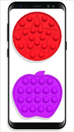 pop it Fidget Cubes - calming sounds making toys screenshots 7