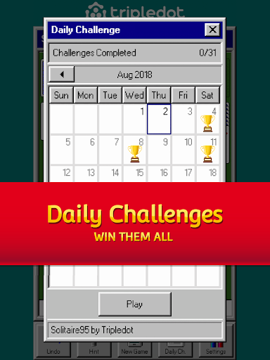 Solitaire 95 - The classic Solitaire card game 1.5.0 screenshots 8