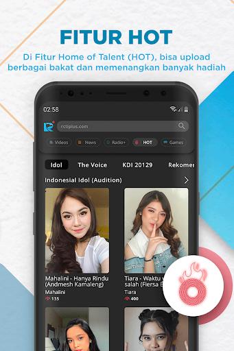 RCTI+ | Video, News, Radio, Talent Search & Games  Screenshots 6