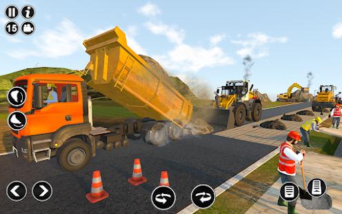 Road Construction Simulator - Road Builder Games  Screenshots 3