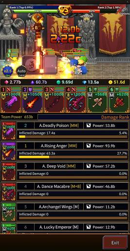 Weapon Heroes : Infinity Forge(Idle RPG)  screenshots 8