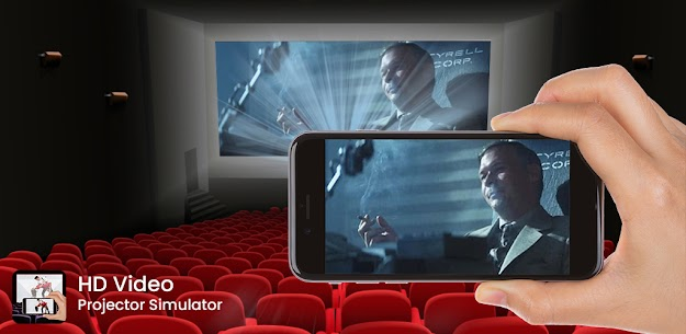HD Video Projector Simulator Apk app for Android 1
