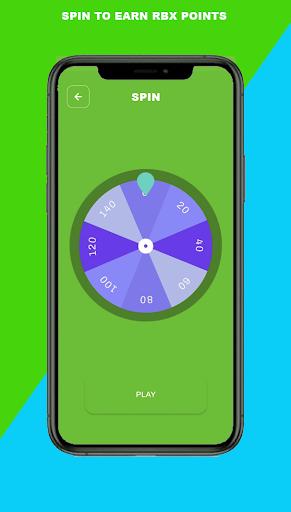 Robux Spin wheel: Free Robux Real & calc Quiz  Screenshots 5