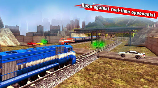 train racing games 3d 2 player screenshot 2
