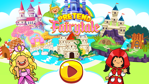 My Pretend Fairytale Land - My Royal Family Game  screenshots 1