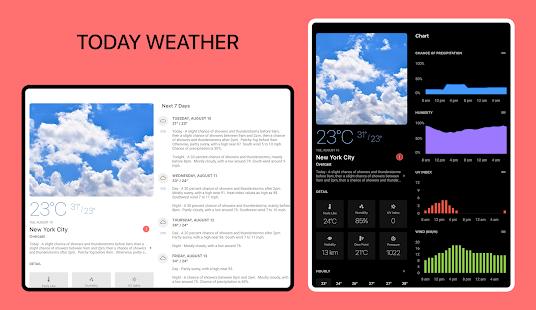 Today Weather - Weather Forecast, Widget & Radar screenshots 12