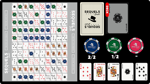 Sequence: Sequel5 Online Multiplayer Board Game 6.0.4 screenshots 1
