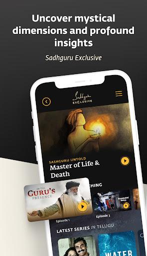 Sadhguru - Yoga, Meditation & Spirituality apktram screenshots 7