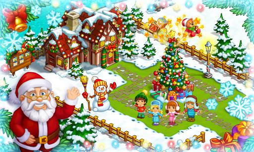 Farm Snow: Happy Christmas Story With Toys & Santa screenshots 8