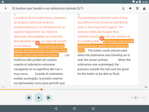Beelinguapp: Learn Languages Music & Audiobooks modavailable screenshots 9