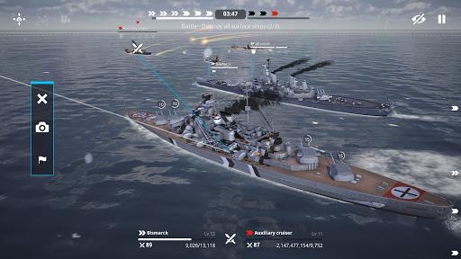 Warship Fleet Command : WW2 Naval War Game  screenshots 7