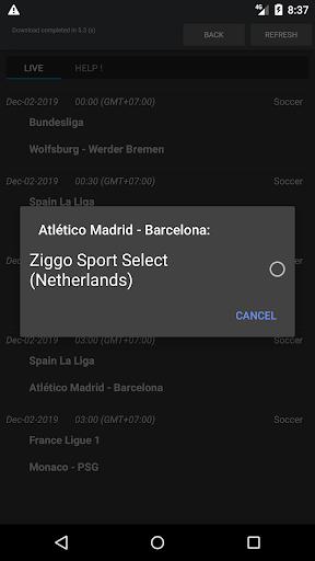 Sport Schedule 1.03 Screenshots 2