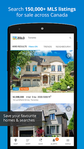 Real Estate in Canada by Zolo  Screenshots 1