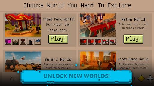 Ultimate Craft: Exploration of Blocky World 1.29-minApi23 Screenshots 4