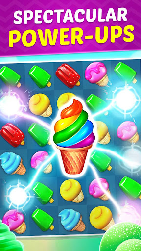 Ice Cream Paradise - Match 3 Puzzle Adventure  screenshots 3