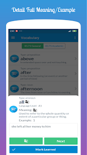 IELTS Vocabulary Builder : Learn & Practice