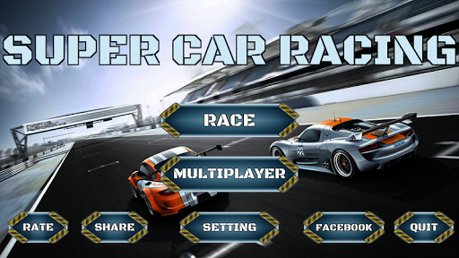 Super Car Racing : Multiplayer 1.0 screenshots 1