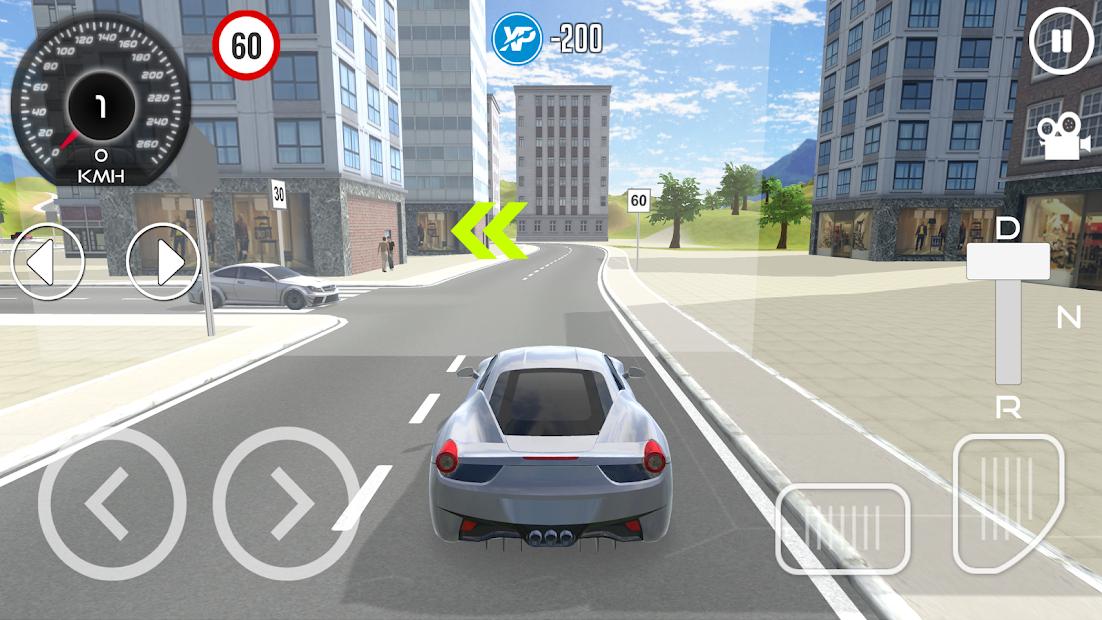 Driving School Simulator 2020 Android App Screenshot