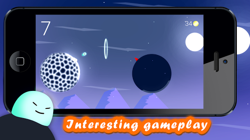 slime: jump and fly! screenshot 1