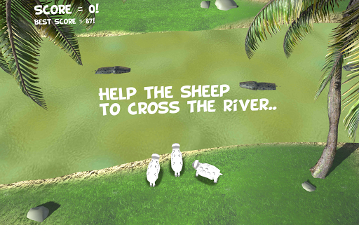 crocodile river cross attack screenshot 1