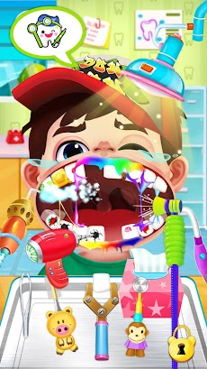 かわいい歯医者さんゲーム無料 - 医者ゲーム 無料のおすすめ画像3