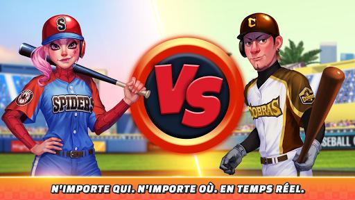 Télécharger Baseball Clash: Real-time game APK MOD (Astuce) screenshots 2