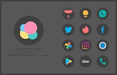 Black Pie - Icon Packのおすすめ画像4