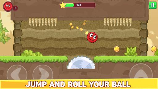 Bounce Ball 5 - Jump Ball Hero Adventure 3.9 Screenshots 1