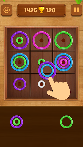 Color Rings - Colorful Puzzle Game 3.4 screenshots 1