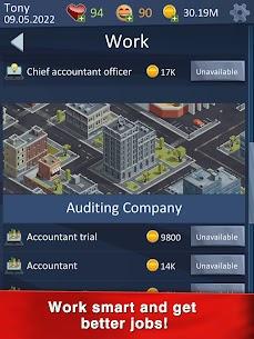 Hit The Bank  Career, Business amp  Life Simulator Apk Download 4