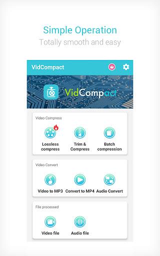 Video to MP3 Converter & Compressor - VidCompact apktram screenshots 1