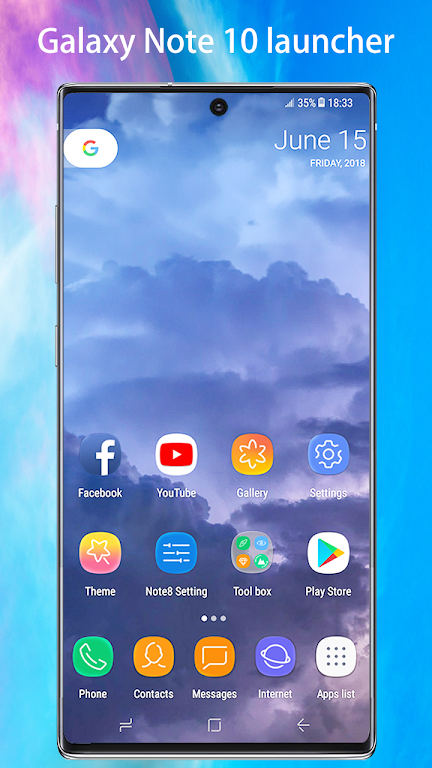 Note10 Launcher for Galaxy Note9/Note10 launcher  poster 0